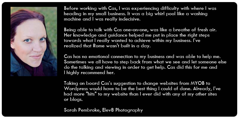 testimonial from elev8 photography