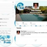 Evans and Evans Pools Twitter Background and Banner