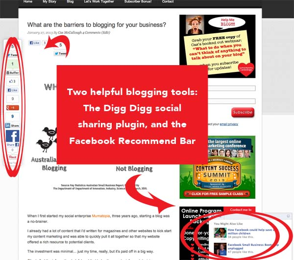 two useful blogging plugins