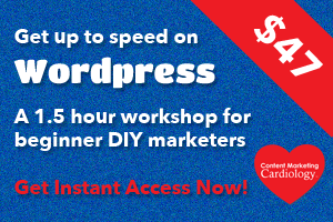 Get up to speed on wordpress, a workshop for small business DIY marketers