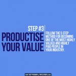productise your value