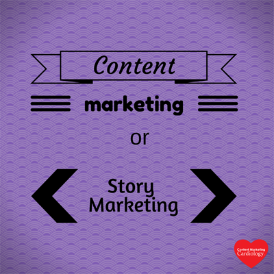 content marketing or story marketing