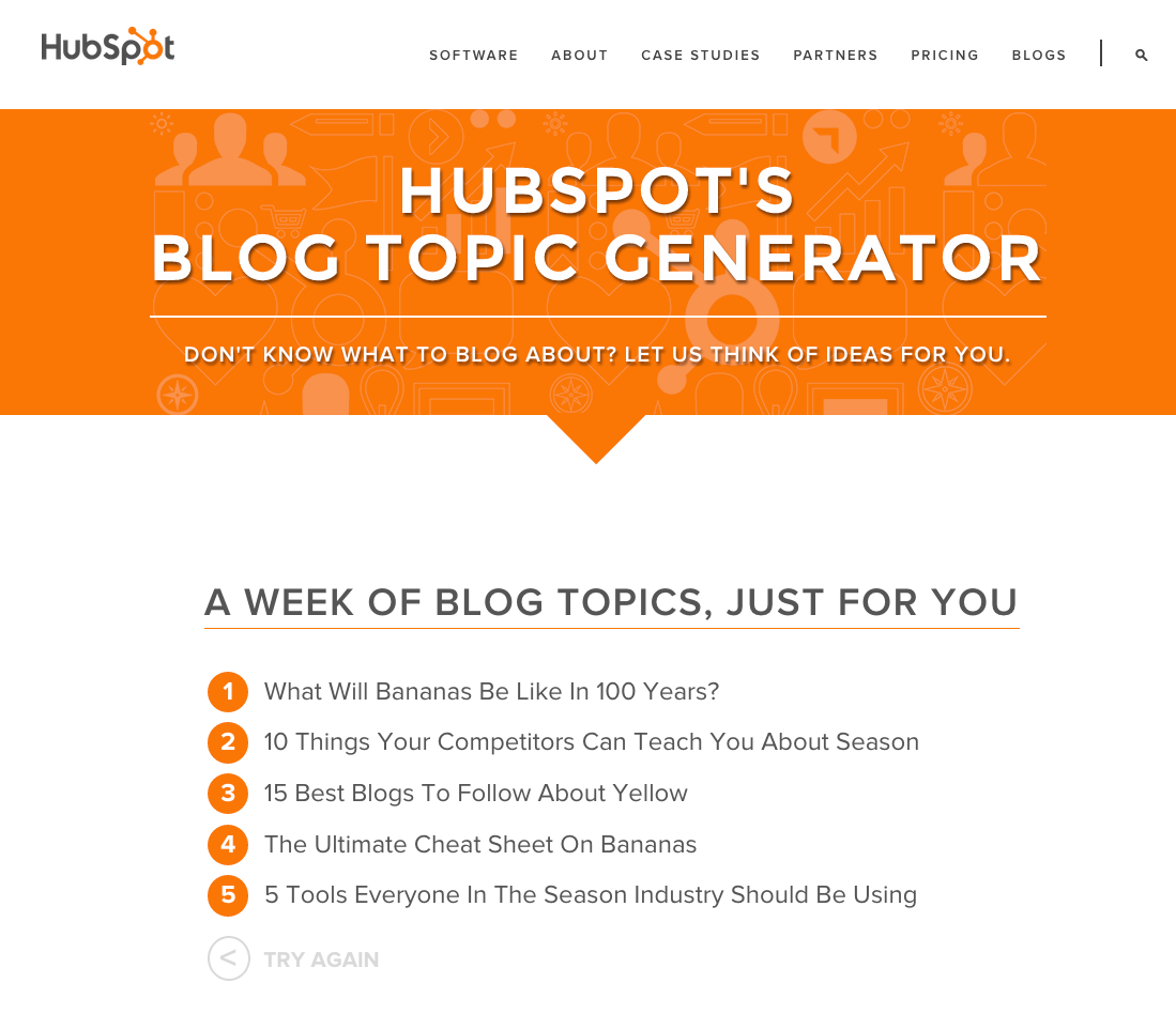 The Best and Worst Blog Topic Generators On the Web - Writally